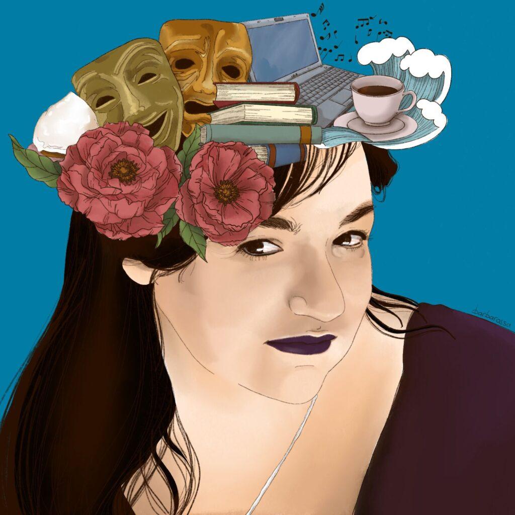 'Cosa ti passa per la testa?', ritratto di Barbarossa illustrator